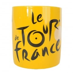 Mug céramique jaune 4 maillot