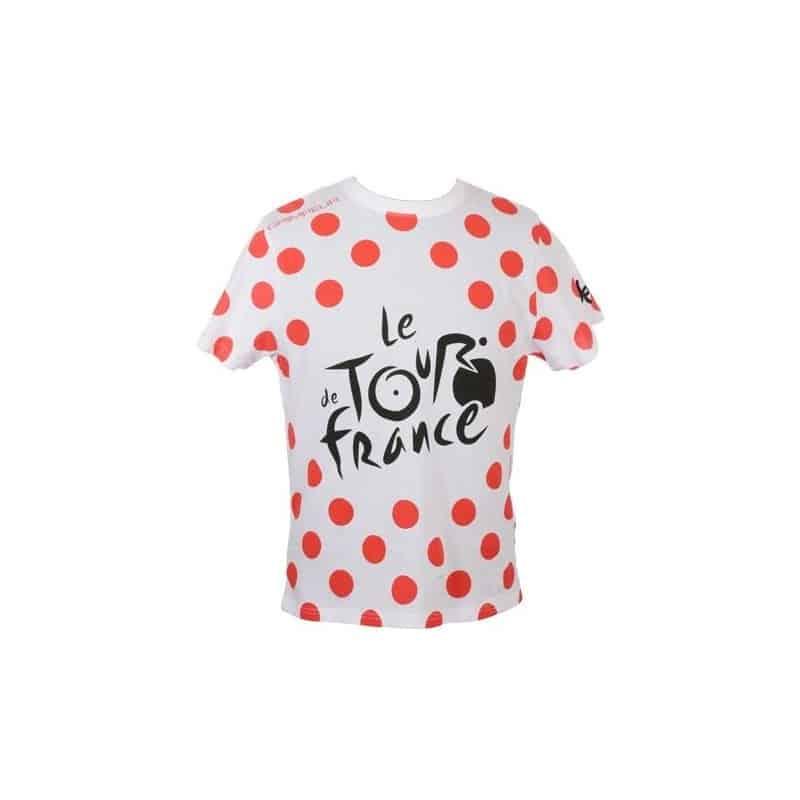 T-shirt logo à pois Tour de France